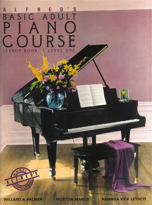 Alfred S Adult Piano Book