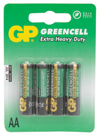 AA Batteries - 4 pack