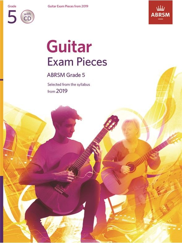 ABRSM Guitar Grade 5 - Book & CD