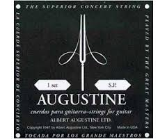 Augustine Black Label Classical Guitar Strings - Low Tension