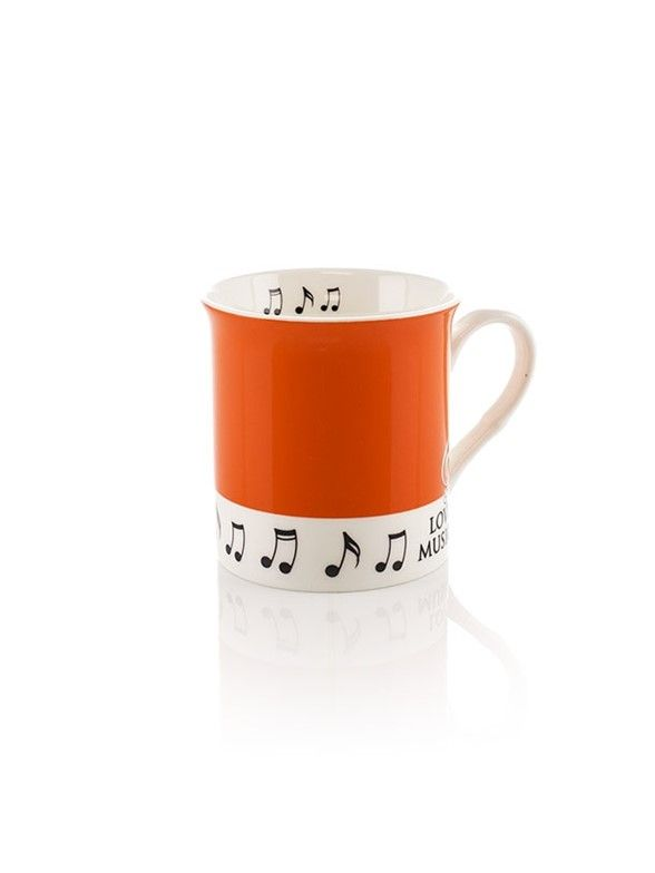 Colour Block Mug - Orange