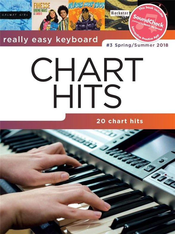 Really Easy Keyboard - Really Easy Keyboard Chart Hits #3 - Spring/Summer  2018