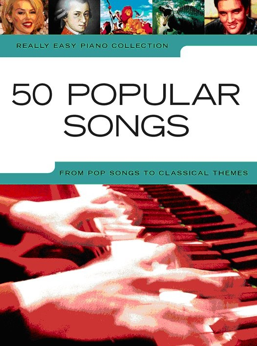 Really Easy Piano 50 Popular Songs