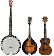 Ukulele, Banjo, Mandolin Strings