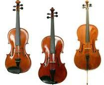 Violin, Viola + Cello Strings